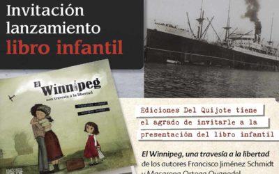 Lanzamiento Winnipeg, una travesía a la libertad