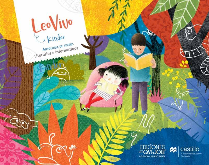 Libro leo Vivo Kinder, Portada