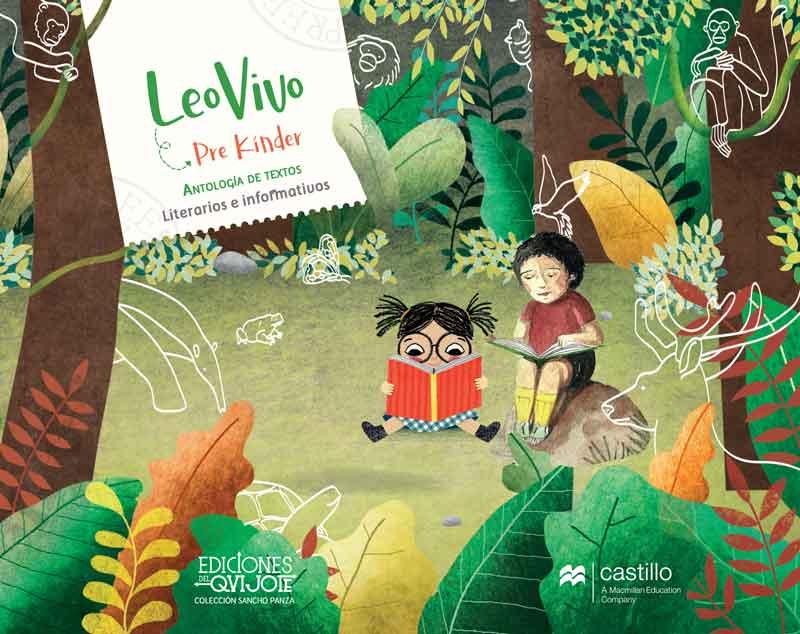 Libro Leo Vivo 1º - 2º Básico, portada