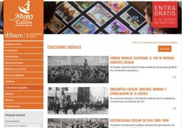 Colecciones digitales del Museo de la Educación Gabriela Mistral – Dibam